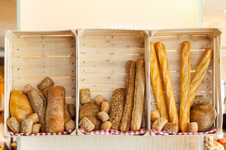 French Bread corner at SundayBrunch Paris Budapest Restaurant