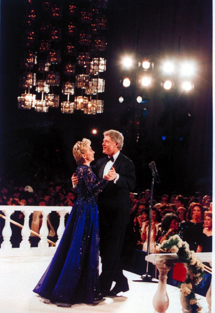 Bill Clinton Style Evolution: From College Sweatshirts To Tuxedos (PHOTOS)