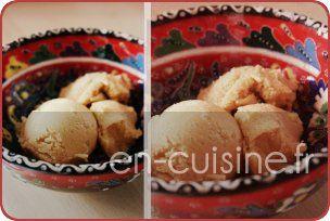 Recette crème glacée au caramel au beurre salé au Thermomix