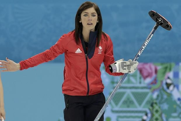 It was Eve Muirhead, Team GB's charismatic captain, who made the difference with a spectacular five-pointer that closed out the seventh end and the match as the Japanese conceded.