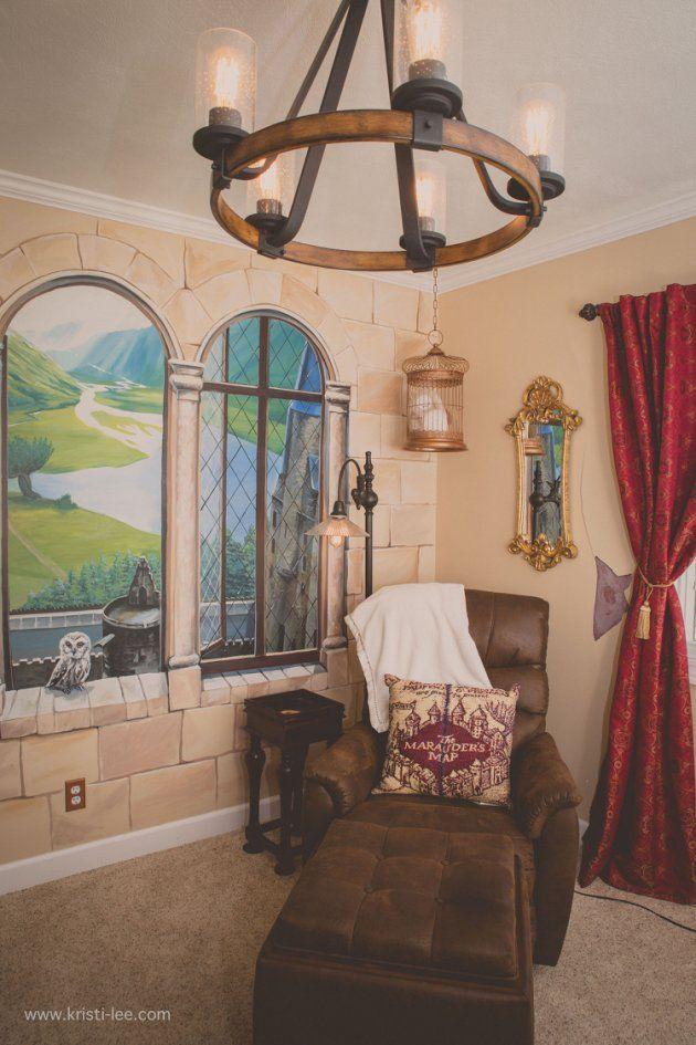 The Best Harry Potter Nursery!  Kristi Lee Photography