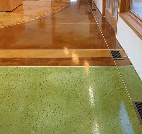 Concrete StainCement Floors, Design Floors, Interiors Design, Floors Ideas, Floors Design, Concrete Stained, Concrete Floors, Acid Stained Concrete, Basements Floors