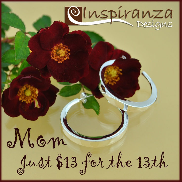 Just $13 and just in time for Mother's Day.  Special shopping cart orders only.