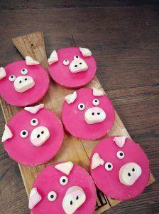 Een smakelijk varkentje gemaakt van een heerlijke roze koek met spekkies. Een traktatie voor een echte Lees verder...