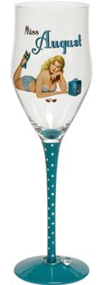miss august birthday wine glass...wanttt