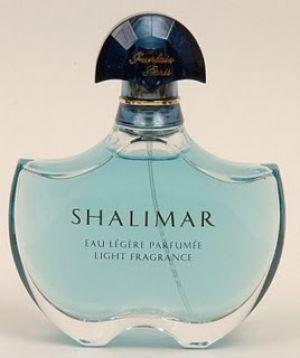 Shalimar blue perfume bottle Know your fashion history: Perfume perfection