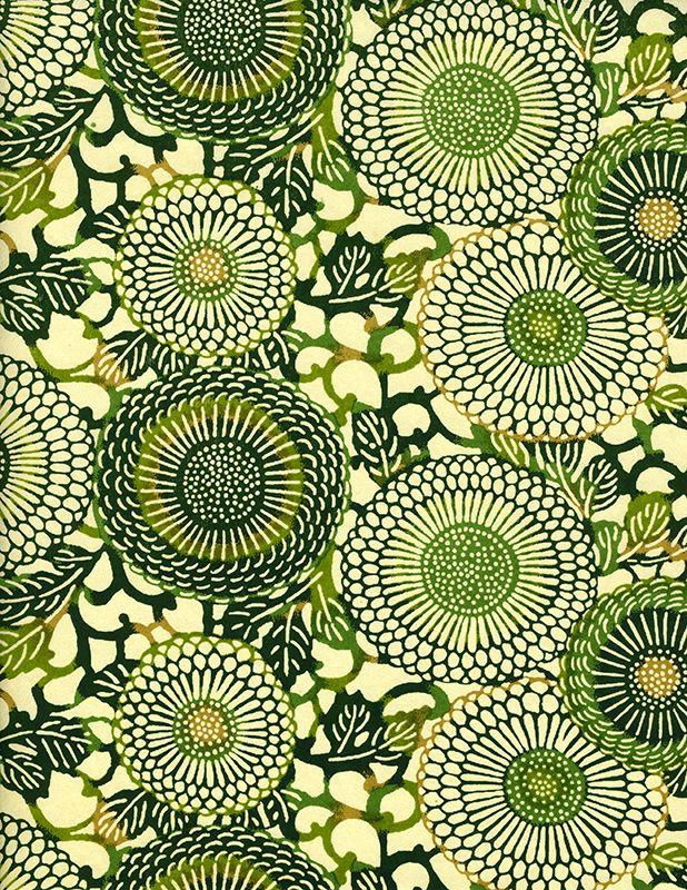 Japanese chiyogami paper - beautiful pattern