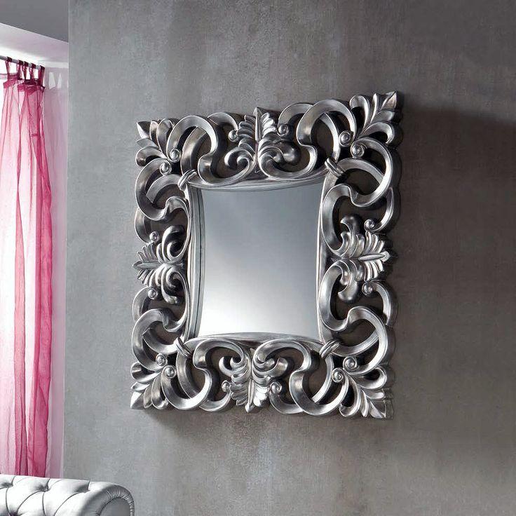 Espejo cuadrado enmarcado (294 – DE20) - Muebles CASANOVA