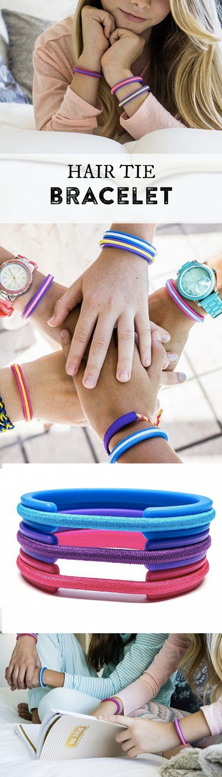 Give your kids a better way to carry their hair elastics that's fun AND keeps their wrists indent-free.