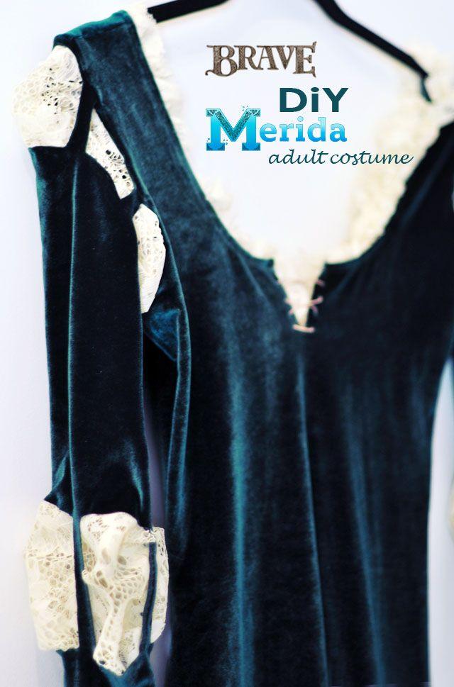 DIY+Merida+Costume+(Adult)+++Hair+&+Makeup+Tutorials