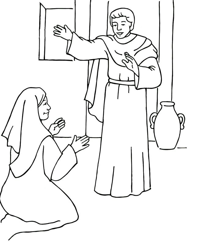 434 Best Images About Bible Coloring Time On Pinterest