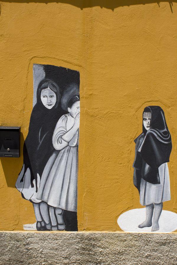 Street Art, Sardinia, Orgosolo