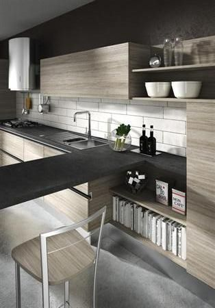 Cucina legno chiaro