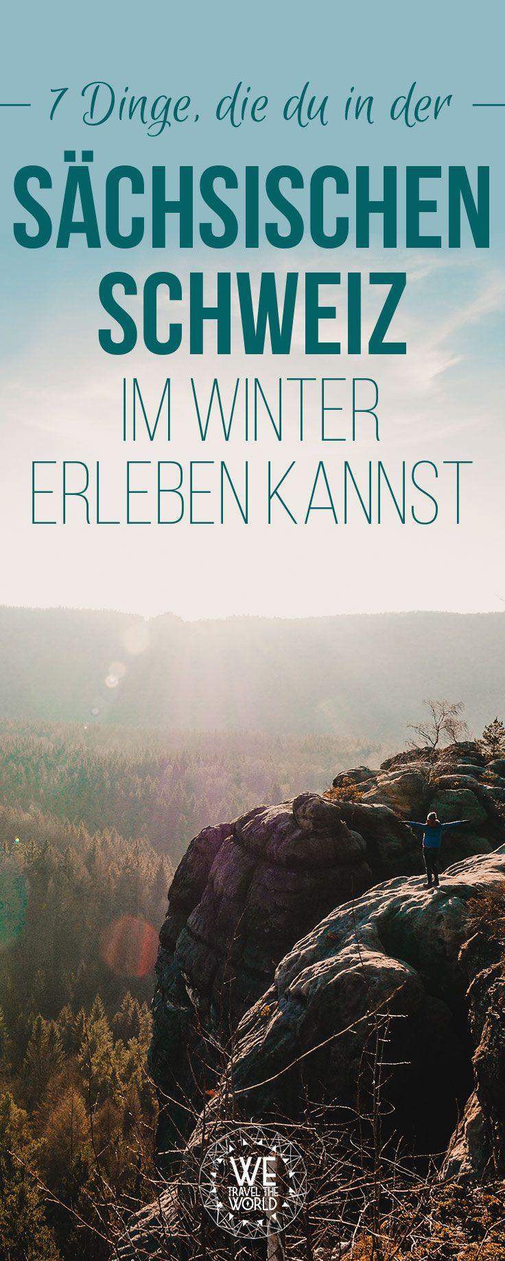 Urlaub in der Sächsischen Schweiz in Deutschland im Winter. Hier erfährst du was du zu dieser Jahreszeit alles auf deinem Kurzurlaub erleben kannst. #reisetipps #kurztripp