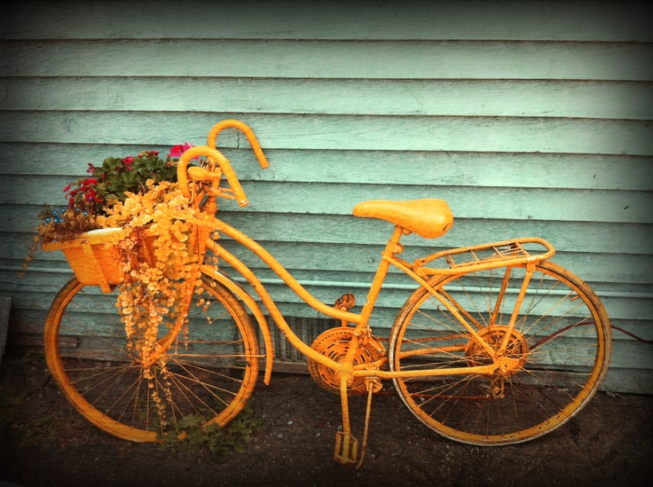 Fort Langley, iPhoneography, bike, bicycle, iPhone, trevor, brucki, vancouver, photographer, photography