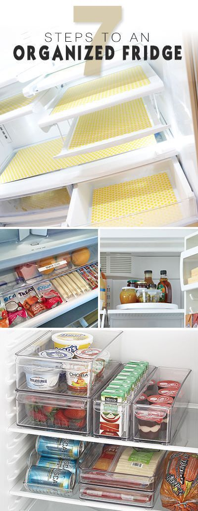 Cleaning refrigerator is a task, which we often avoid but with these 7 steps to an organized fridge you can do this easily!