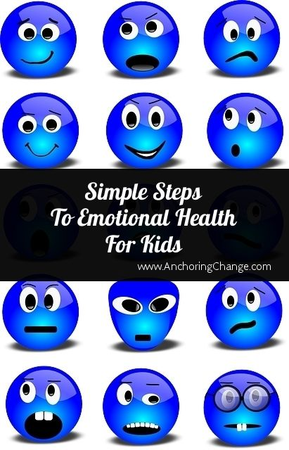 Simple Steps To Emotional Health For Kids