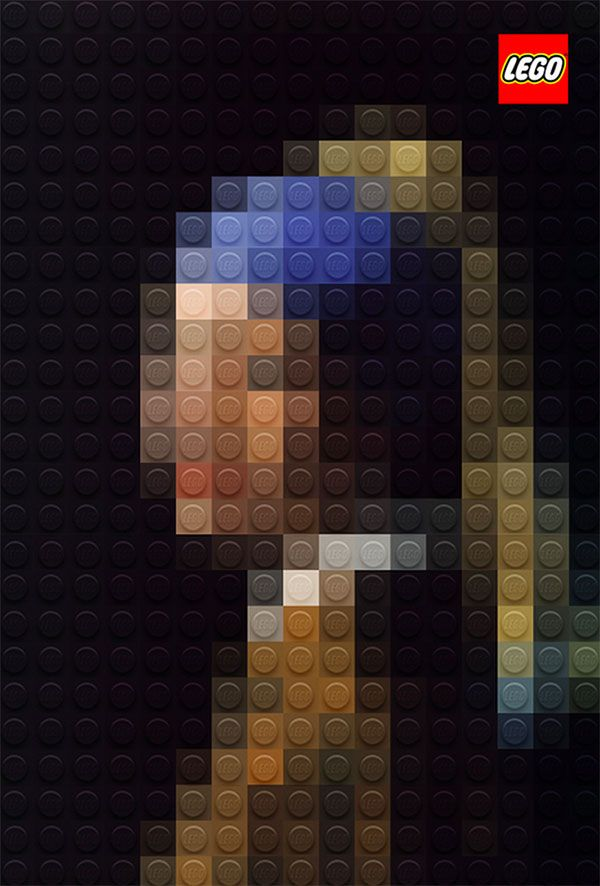 La jeune fille à la perle, LEGO