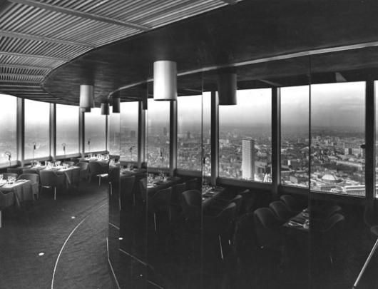 The Post Office Tower - view from the Restaurant
