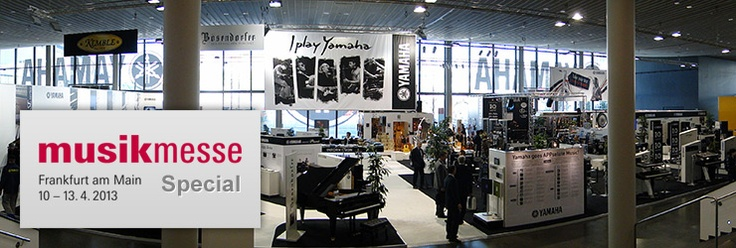 Yamaha Musikmesse 2013 | Frankfurt | #Y4U