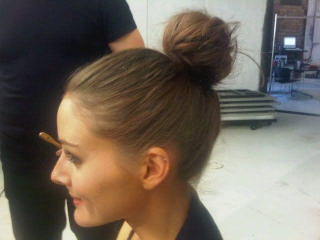 olivia palermoMakeuphair Style, Buns Hair Style, Tops Knots, High Buns, Olivia Palermo Buns, Beautiful Hairmakeup, Ballerinas Buns, Hair Inspiration, Perfect Buns