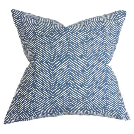 blue is the new neutral: Cotton Pillows, Herringbone Motif, Joss And Maine, Arm Chairs, Edyth Pillows, Chic Cotton, Throw Pillows, Pillows Bring, Favorite Arm