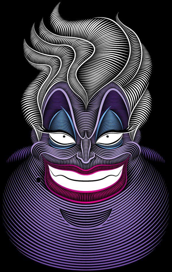 Ursula by Patrick Seymour, via Behance