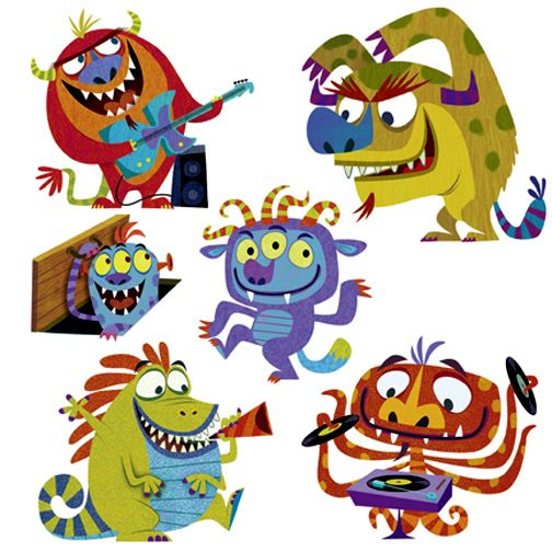 Monsters by Michael Robertson.