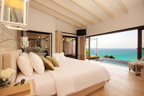 BedroomDreams Bedrooms, Beach House, Bedrooms Design, The View, The Ocean, Master Bedrooms, Dreams Room, Ocean View, Beachhouse