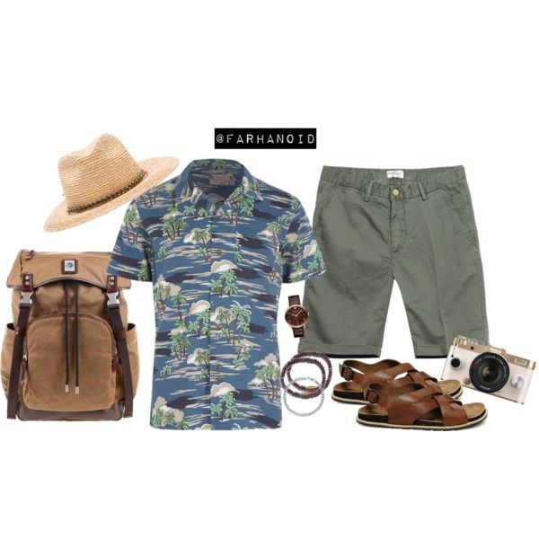 Summer Traveling by farhanoid on Polyvore featuring Emporio Armani, We Are All Smith, BERRICLE, Diesel, Steve Madden, GANT, Brixton and Bellfield
