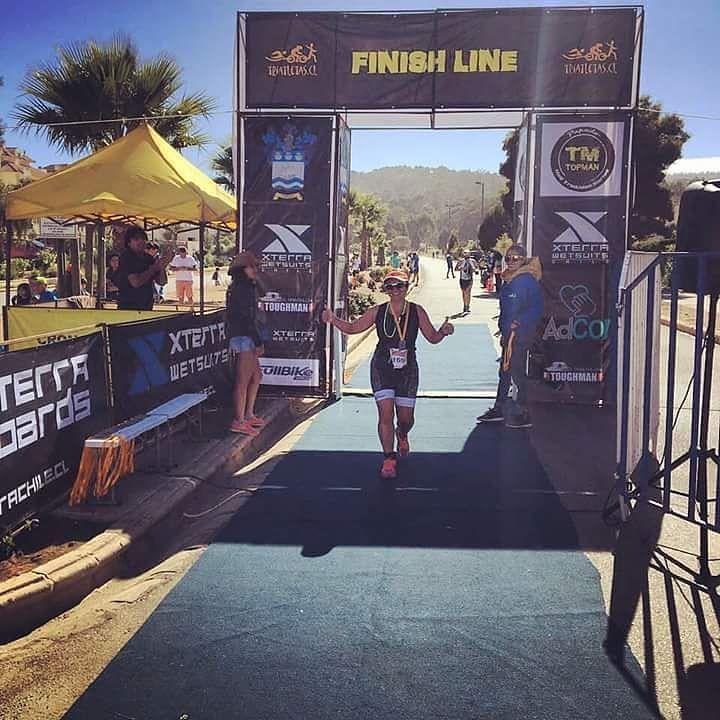 Felicitamos a nuestra socia Loreto Lizana por obtener el segundo lugar de su categoría en Triatlón Papudo distancia 1/4 IronMan