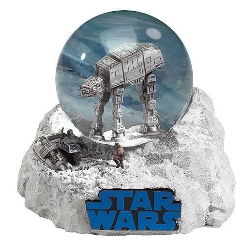 star wars snow globes   Star Wars Battle of Hoth Water Globe - Encore - Star Wars - Snow ...