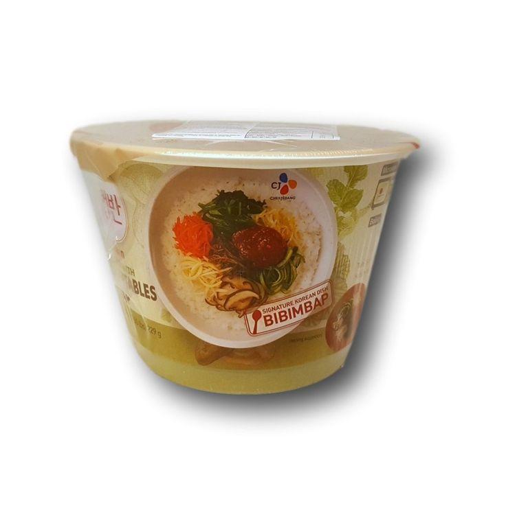 Pika-Bibimbap riisi kasviksilla - East Asia Mart Online Shopping