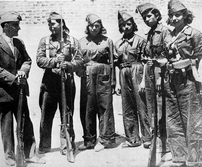the role of women during the spains civil war Identify the roles of women in the spanish civil war 6 identify other points of  view or types of sources not represented in the sampling materials • internet.