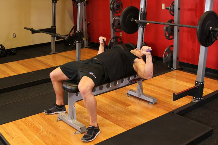 front squat workout chest workout barbell guillotine bench press ...