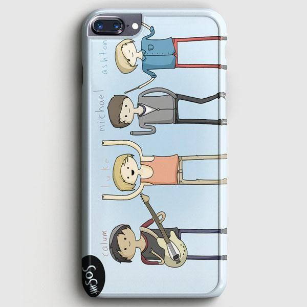 5Sos Cartoon iPhone 8 Plus Case