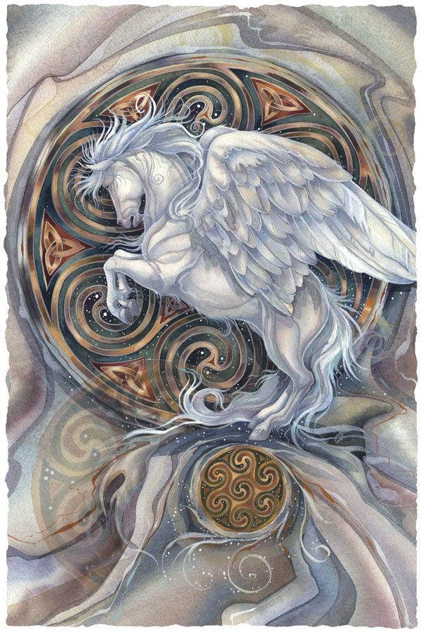Bergsma Gallery Press :: Paintings :: Fantasy :: Mythological Creatures :: May Your Dreams Take Flight - Prints
