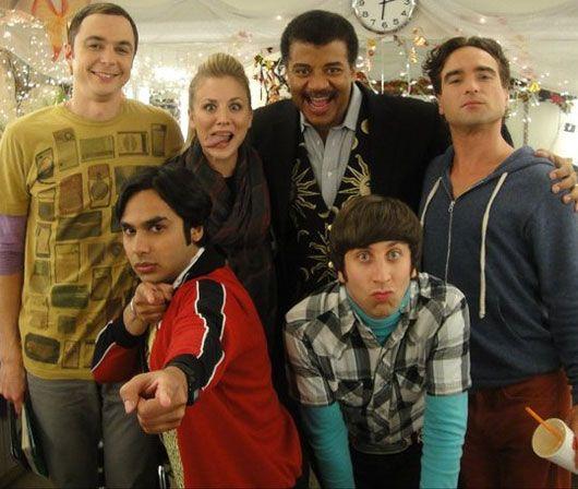 "Neil and ""The Big Bang Theory"" GangBangs Cast, Kaley Cuoco, Big Bang Theory, Big Bangs Theory, Quality, Mr. Big, Jim Parsons, Neil Degrasse, Degrasse Tyson"