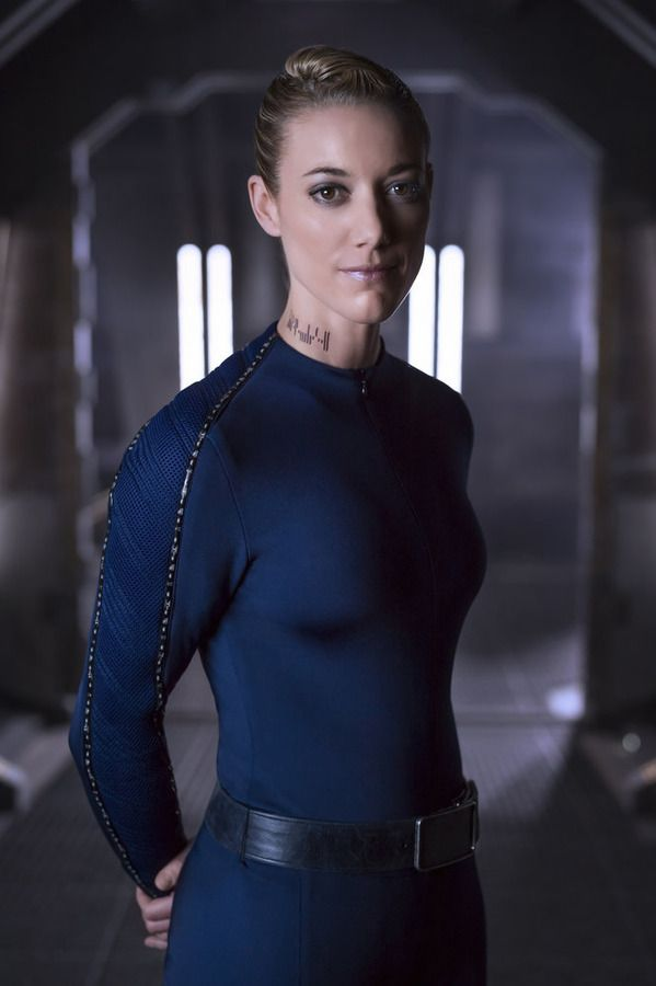 The best!!! Zoie Palmer as The Android in Dark Matter