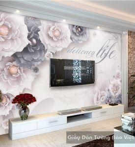 Giấy dán tường phòng khách k15736601