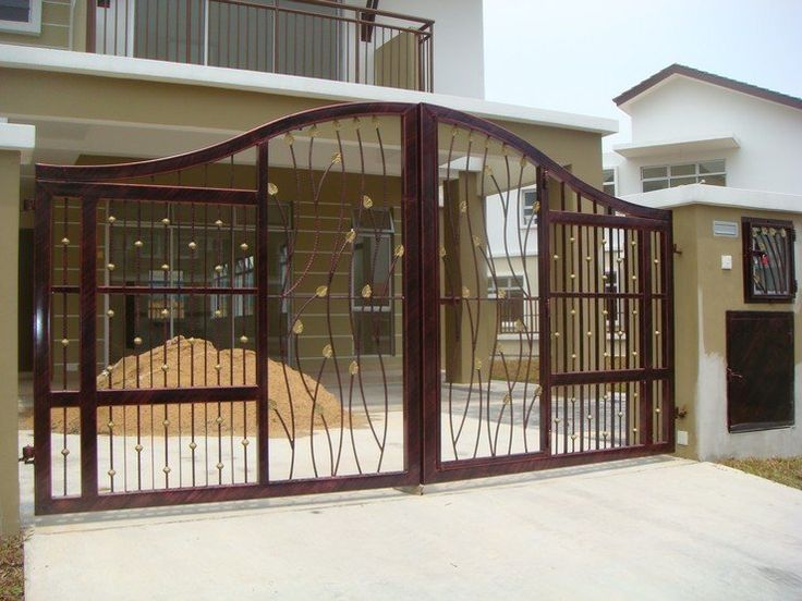 Iron Gates Designs | Ideas for the House | Pinterest | Iron gate ...