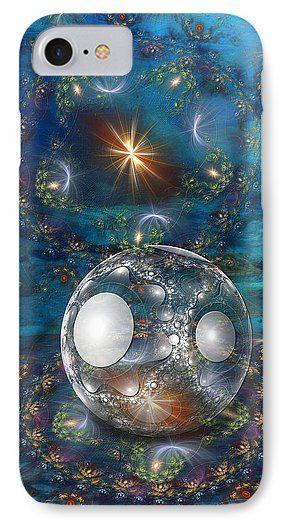 Oyster Bed IPhone 7 Case featuring the digital art Oyster Bed 3d by Sharon and…