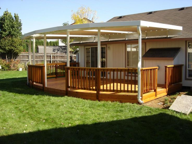 Inspiring Patio Deck Covers Home Inspiration Pinterest