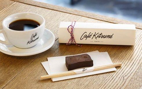 「カフェ キツネ」から新スイーツ、トウフ ショコラが期間限定で登場