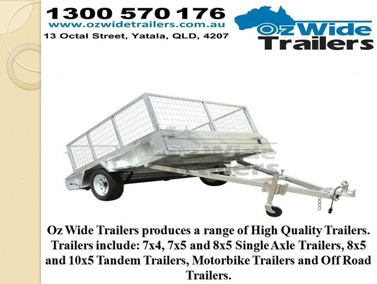 Car Trailer For Sale Brisbane by ozwidetrailers.deviantart.com on @DeviantArt