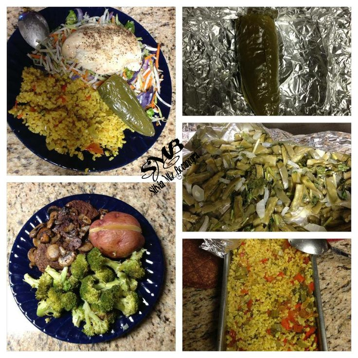 salad, grilled jalapeño, and Mexican style rice Dinner: Grilled ...