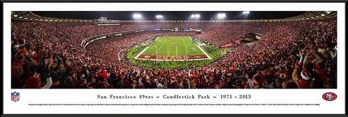 San Francisco 49ers Framed Panoramic Photo