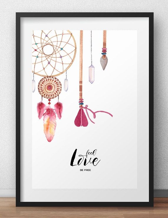 Wall art, Feel Love - Digital print art poster - Wall art - Digital Download - Instant Download  This is a digital file download, this is NOT A