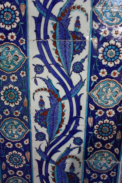 Turkish Tile - always loved these!