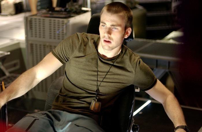 Chris Evans as Mace in Sunshine (2007)